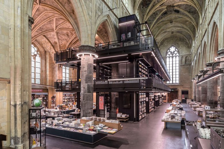 bookshop in a church