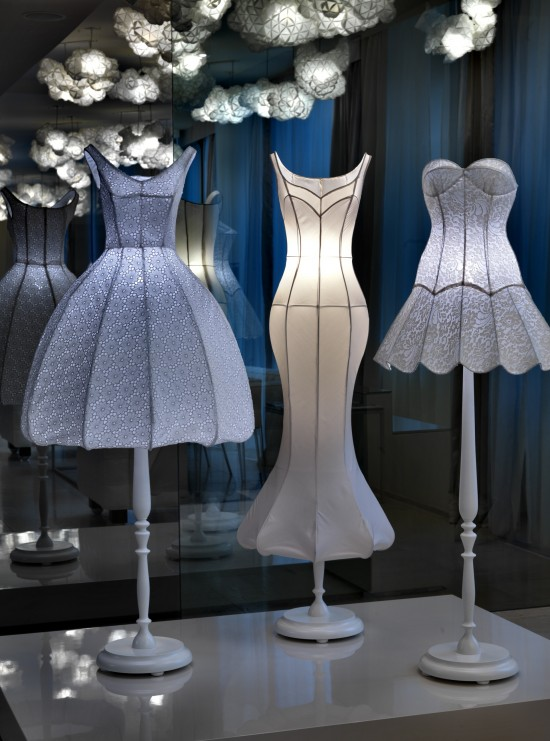 Dress Lamps At Maison Moschino Upcyclist