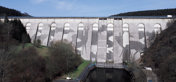 Oleftalsperre Dam by Klaus Dauven