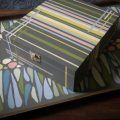Upcycled painted box by Linescapes