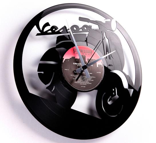 Laser Cut Vinyl Record Clocks By Disc O Clock Upcyclist