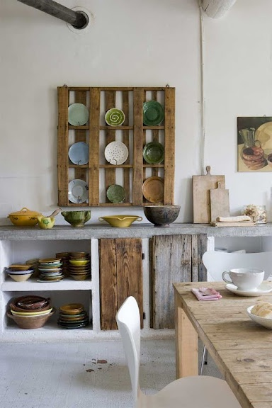 Pallet Kitchen Storage