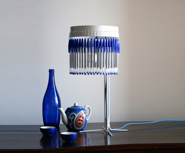 Bic Pen Table Lamp Lucas Munoz