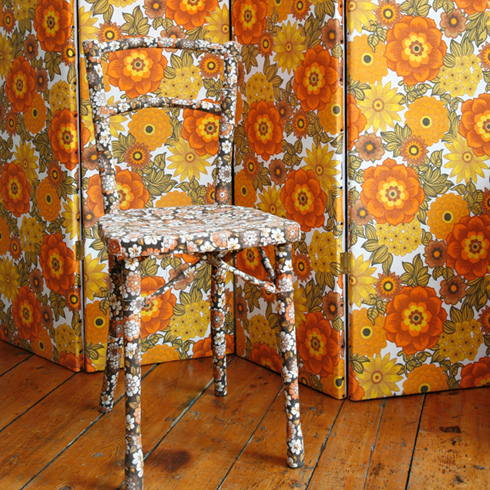 Upcycled Chair by Mel Made This