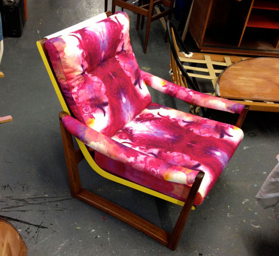 Upcycled Chair by Out of the Dark