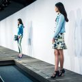 J.Crew Salvaged Hurricane Sandy Floor New York Fashion Week 2013