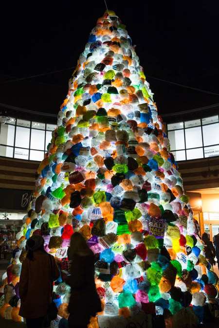 Light Installations Made From Waste At The Lumiere