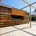 wooden pallet beach house