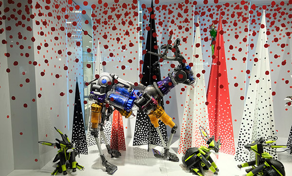 John Lewis Window Displays 2013