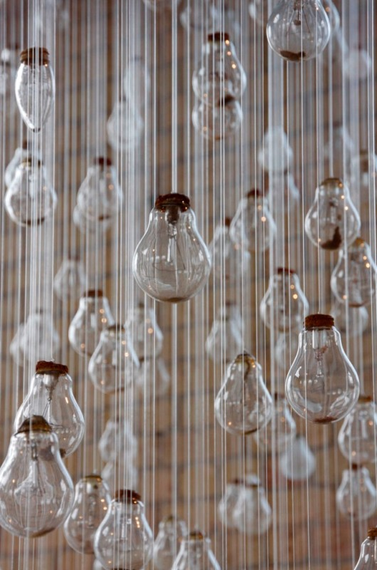 Lightbulb Installation Charlotte Smith