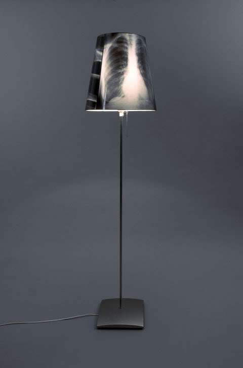 x-ray lampshade by Sture Pallarp