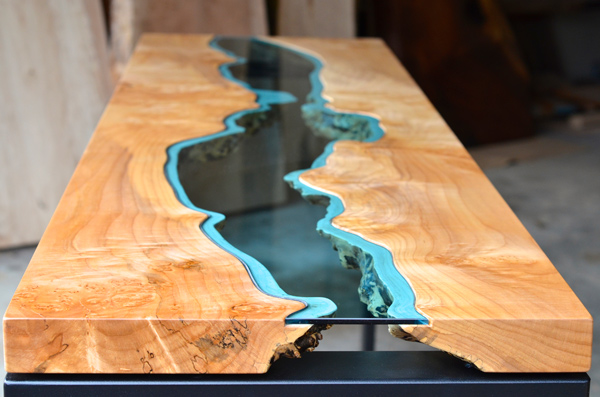 tables made from rotting trees by greg klassen upcyclist. Black Bedroom Furniture Sets. Home Design Ideas