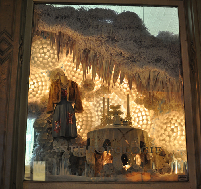 Commercial Christmas Decorations Florida: Anthropologie Upcycled Christmas Windows