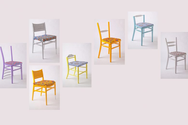 Yinka Ilori parable chairs