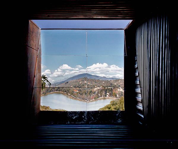 View through the superiscopio