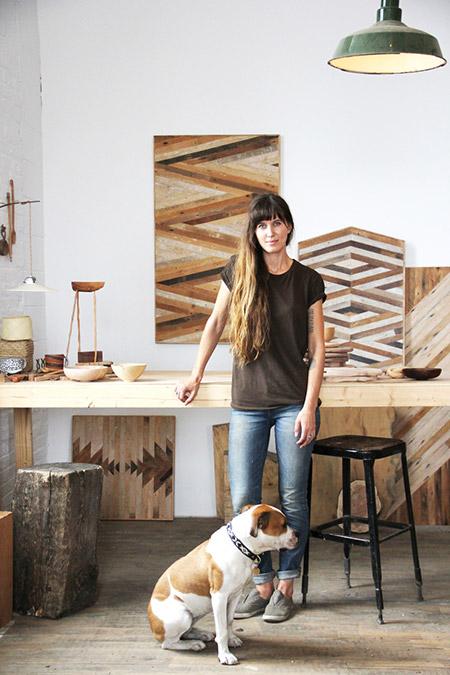 Ariele-Alasko-in-her-studio