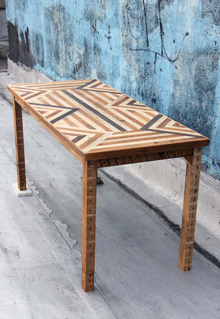 Chevron-reclaimed-wood-dining-table-by-Ariele-Alasko