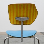 Detail of Egon Eiermann Re-Visited (Love your Life) remodelled vintage chair by Markus Friedrich Staab