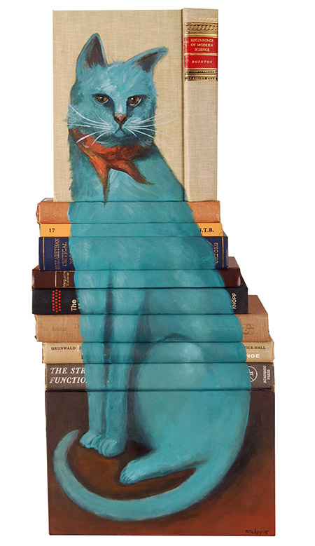 Beginnings-of-Modern-Science-Paintings-on-Discarded-Books-by-Mike-Stilkey