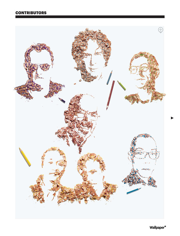 Pencil-shaving-portraits-for-Wallpaper-by-Kyle-Bean