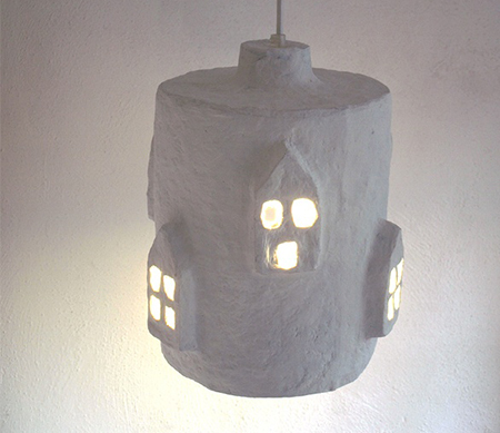 White-Paper-Pulp-Lampshade-by-Paper-Moon-Factory