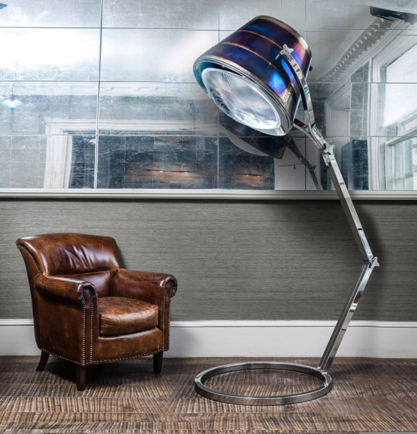 Exhaust-Lamp-made-from-upcycled-aeroplane-parts-by-Fallen-Furniture