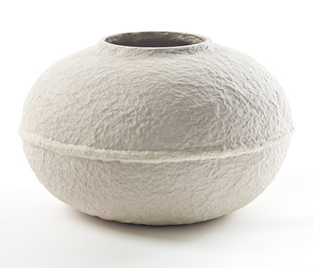 Vessels Made From Paper Pulp By Debbie Wijskamp Upcyclist