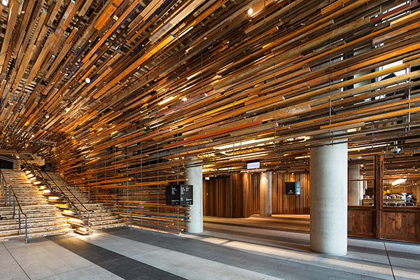 Hotel Hotel Canberra Reclaimed Timber Interior