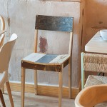Chair made from scrap wood by Piet Hein Eek