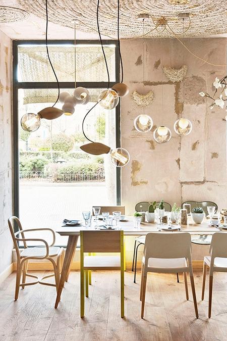 Restaurant interior of Mama Campo Madrid