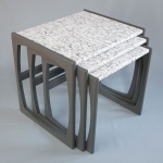 Upcycled nest of tables by Humblesticks