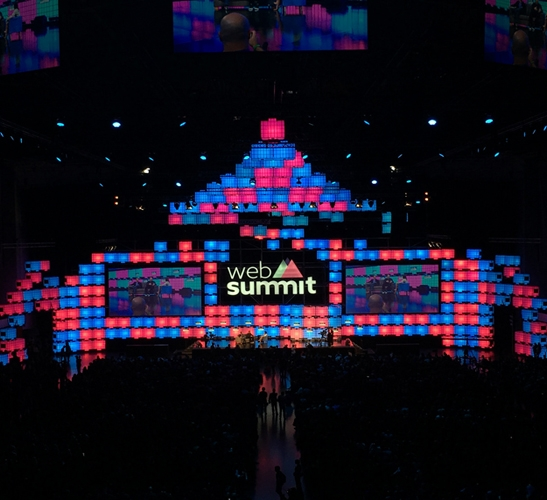 Centre Stage at Web Summit 2016