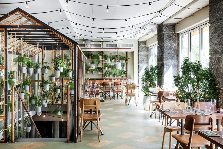 Vakst Copenhagen interior filled with greenery