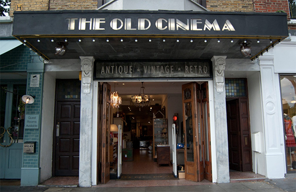 The Old Cinema shop front