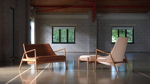 Vintage 1950s Ib Kofod Larsen seating