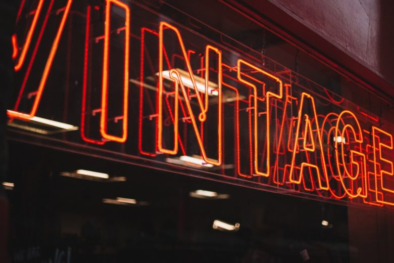 neon vintage signage