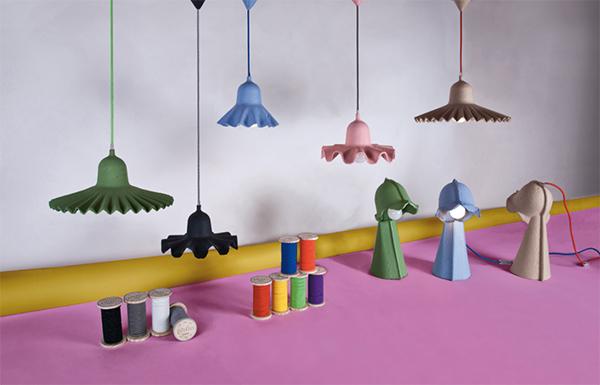Eco chic cardboard lighting by Seletti