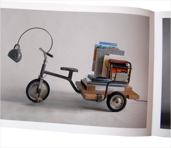 Fantastic furniture made from vintage tricycle