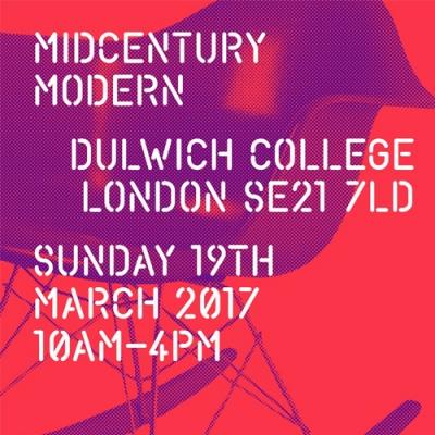 Midcentury Modern 2017 flyer