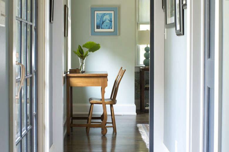 Narrow hallway ideas