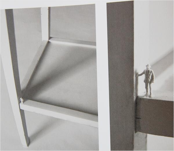 tiny man figurine furniture adornment