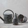 Cross stitched metal objects by Severija
