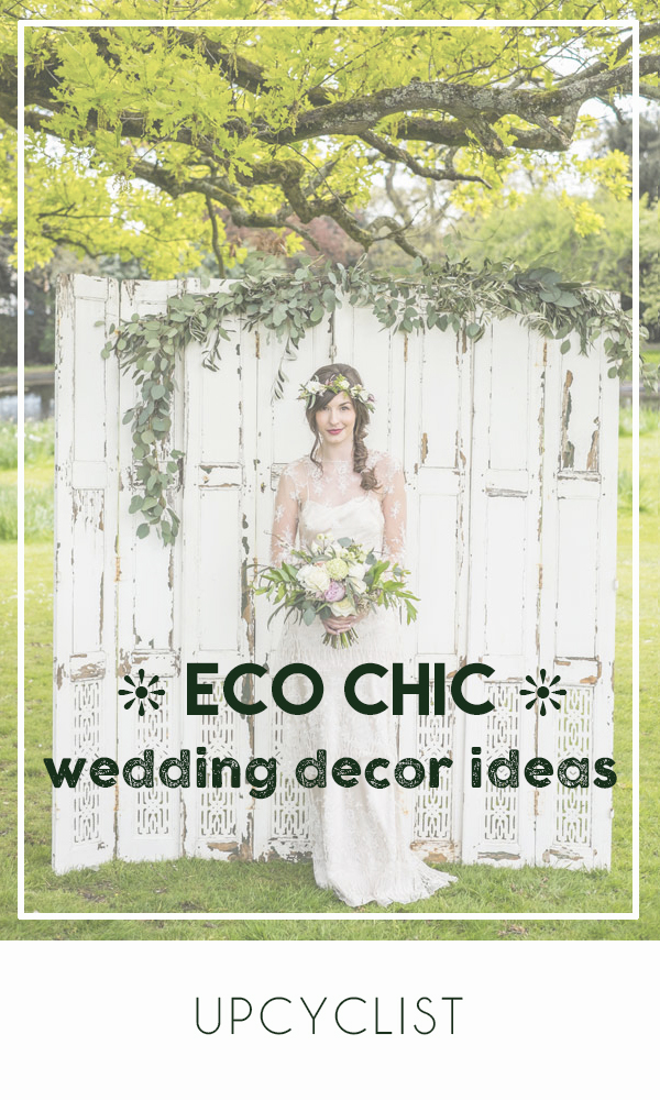 Great ideas for eco-friendly wedding decorations