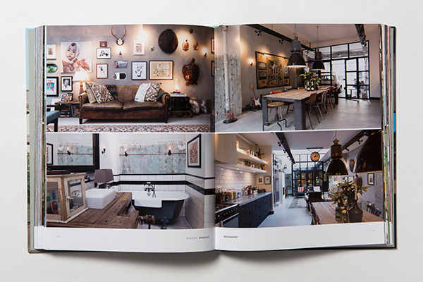 Vintage decor in interiors book Renovate Innovate