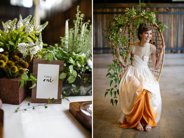 modern eco friendly wedding theme