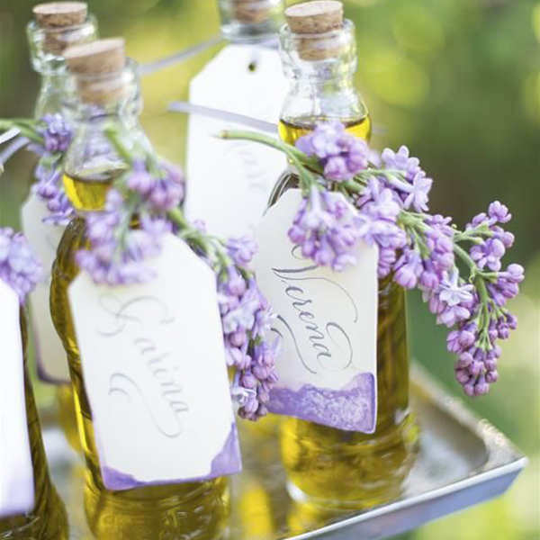 wedding favours olive oil