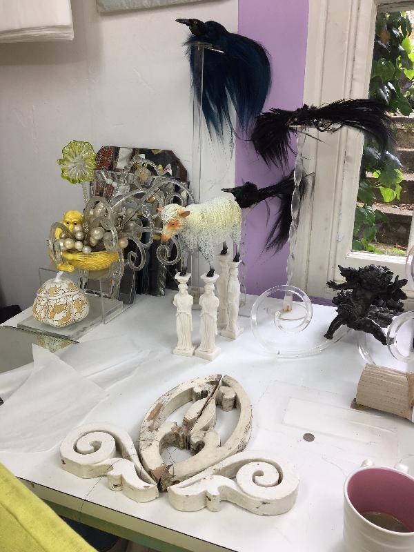 Karen Nicol's studio