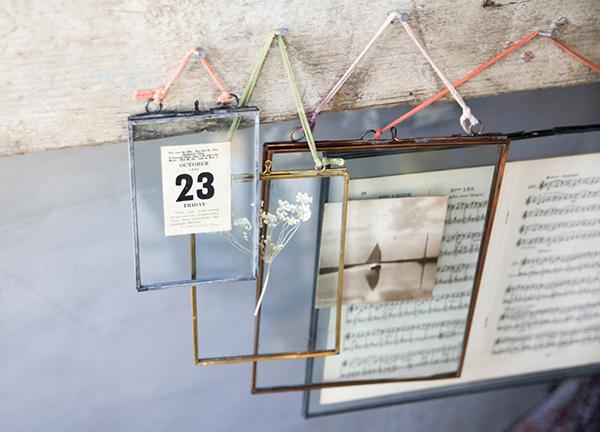Kiko glass frames for Easter decorating by Nkuku