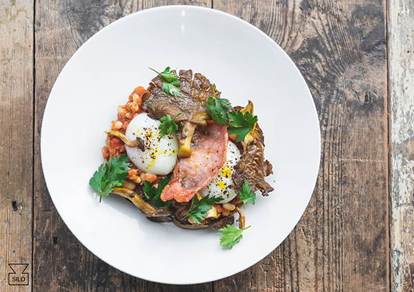 Zero waste brunch at Silo Brighton