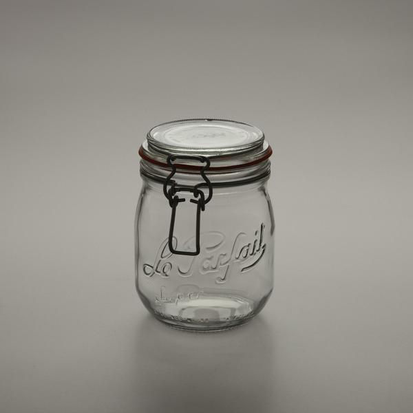 Le Parfait glass canning jar
